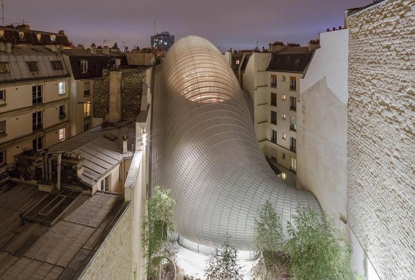Renzo Piano - The Fondation Jérôme Seydoux-Pathé. Image via 11h45.com