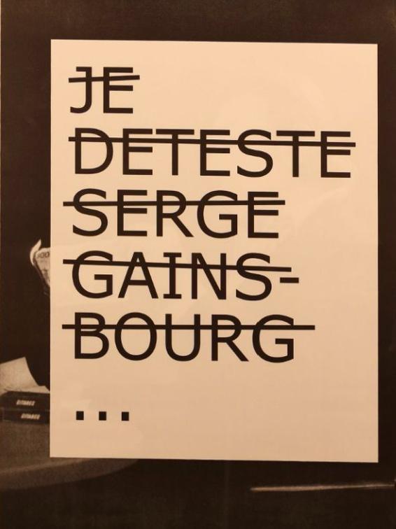 Rero-Je Déteste Serge Gainsbourg-2012