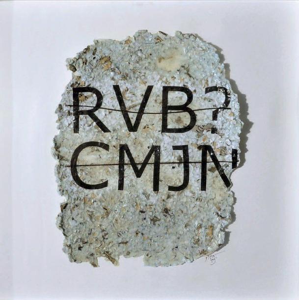 Rero - Untitled (RVB ?CMJN), 2010 (50 x 50 cm)