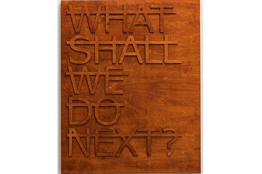 Rero - Untitled (What Shall We Do Next...), 2014