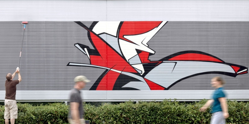 Reso - Where the streets have no name, Saarbrücken, Germany, 2012
