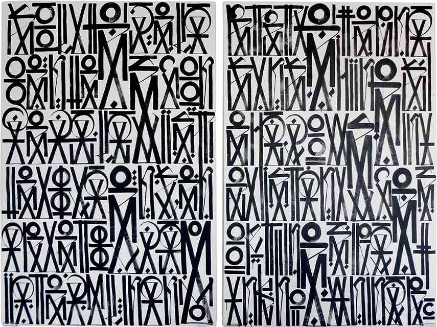 Retna - Eternal Sunshine Diptych english white