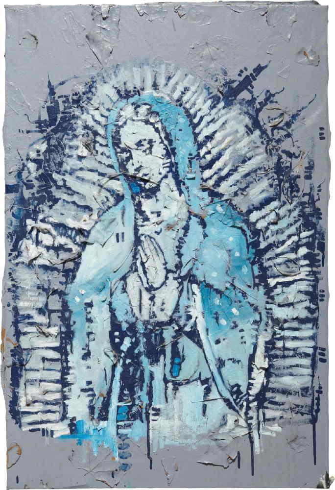 Retna-Untitled (La Virgen)-2000