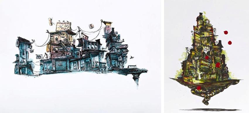Retro - Untitled (Retropolis Quartier Haut), 2015 - Untitled (Retropolis 22H30), 2015