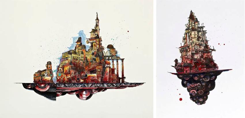 Retro - Ville d'en haut couleurs (Retropolis), 2015 - Untitled (Retropolis 5H32), 2015