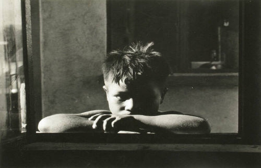 Reva Brooks - Boy at Window - 1950s