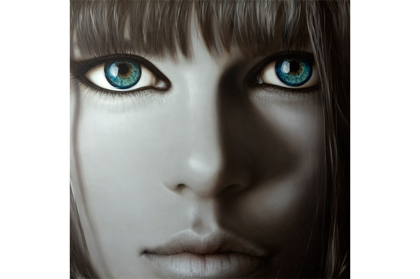 Rhetoric, oil on canvas machiko edmondson unix gallery new york exhibition