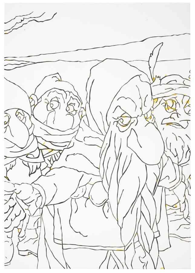 Richard Aldrich-Hobbit Painting-2006