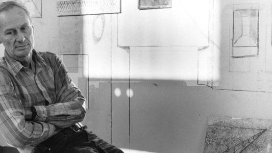 Richard Artschwager 1985, photograph by Peter Sumner Walton Bellamy
