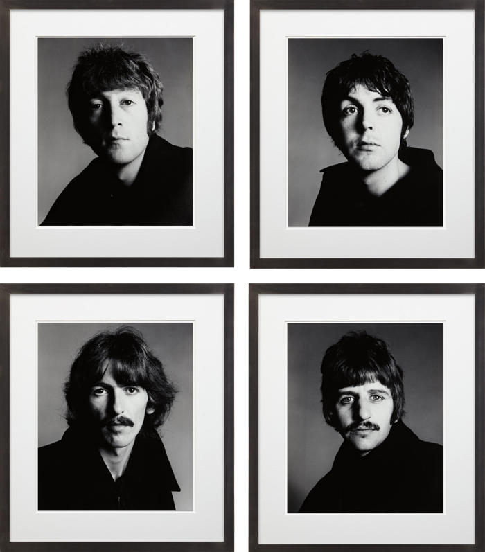 Richard Avedon-The Beatles, London, August 11-1967