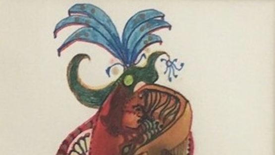 Richard Beaulieu - Mayan (detail)