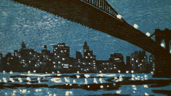 Richard Bosman - Brooklyn Bridge (detail), 1996