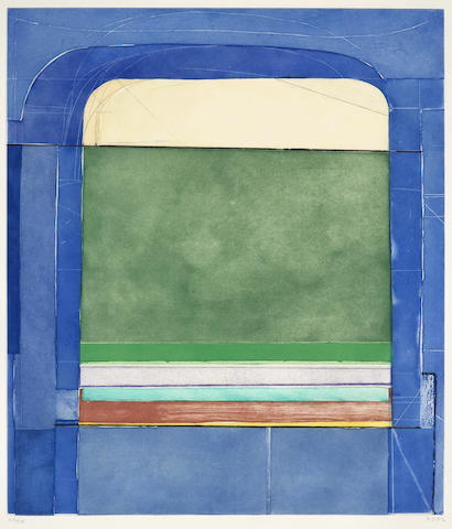 Richard Diebenkorn-Blue Surround-1982