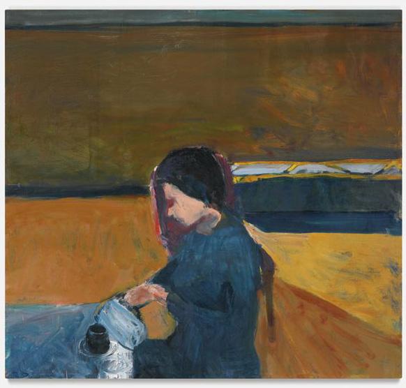 Richard Diebenkorn-Pouring Coffee-1958