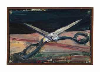 Richard Diebenkorn-Scissors-1962