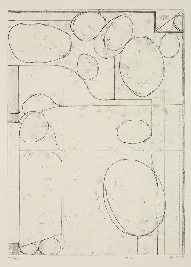 Richard Diebenkorn-Six Softgrounds #5-1978