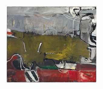 Richard Diebenkorn-Urbana #3-1953