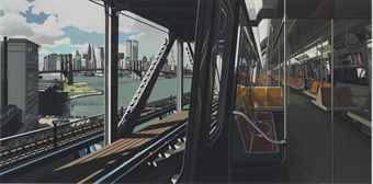 Richard Estes-D Train-1988