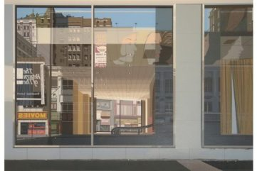 Richard Estes - Movies Urban Landscapes