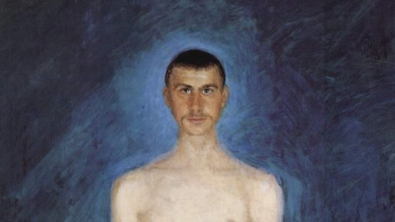 Richard Gerstl autoportrait 1901 (detail)