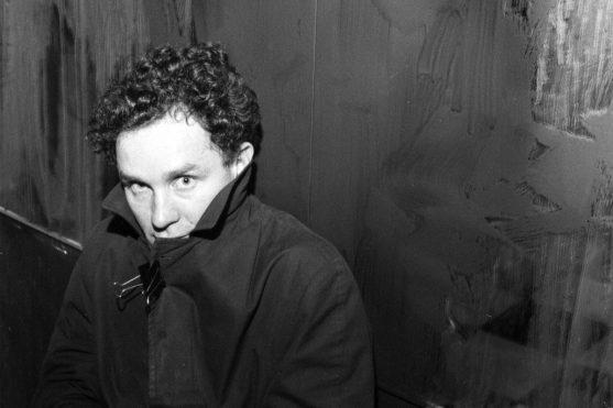Richard Hambleton - Photograph of the artist by Ben Buchanan