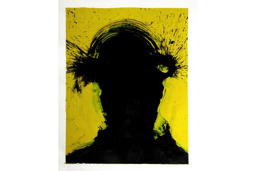Richard Hambleton - Shadow Head Portrait