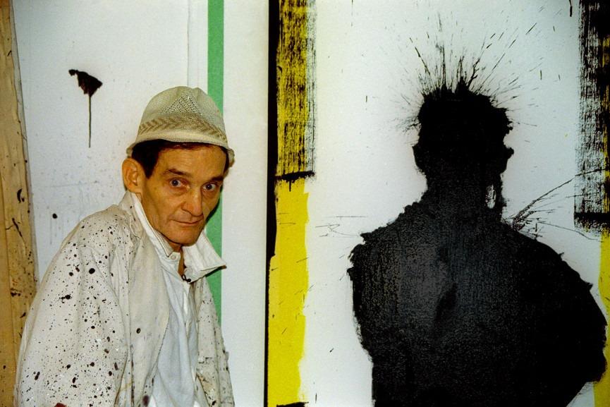 Richard Hambleton in Shadowman