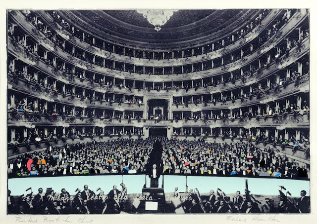 Richard Hamilton-La Scala Milano-1968