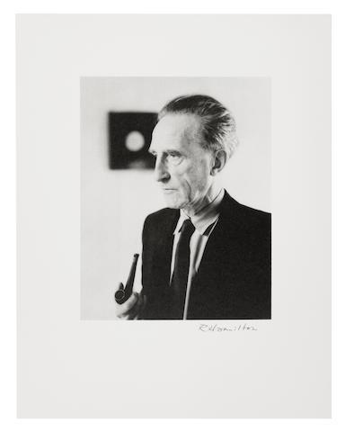 Richard Hamilton-Portrait of Marcel Duchamp-1998