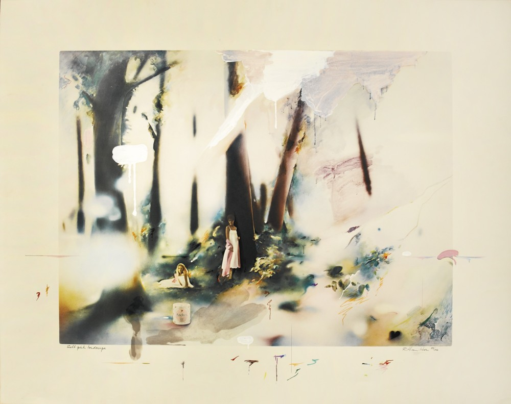 Richard Hamilton-Soft Pink Landscape-1980