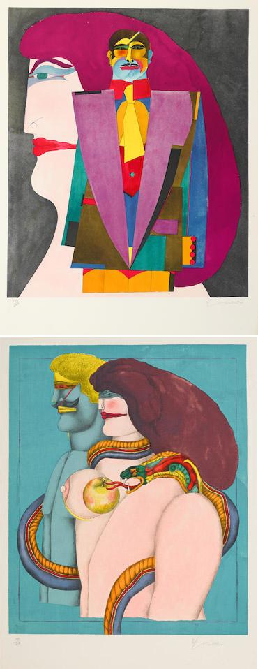 Richard Lindner-After Noon-1976