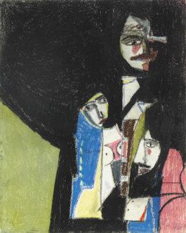 Richard Lindner-Three Figures-1961
