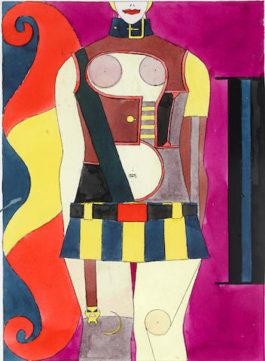 Richard Lindner-Untitled-1970