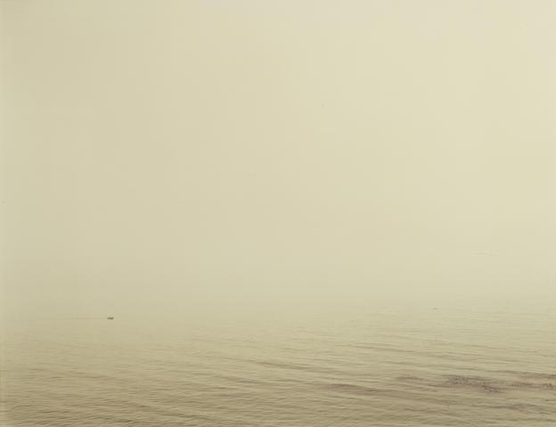 Richard Misrach-Untitled, Santa Barbara (Boat in Fog)-1984