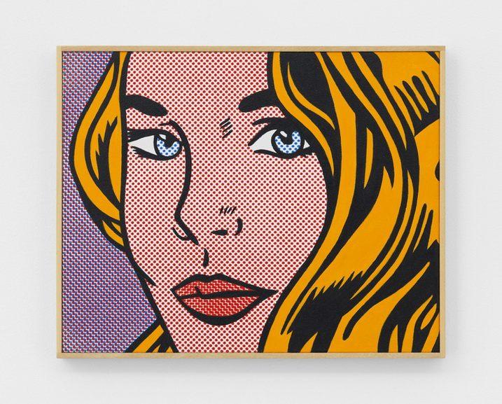 Richard Pettibone - Roy Lichtenstein Seductive Girl 1964 Yellow-Purple 2009