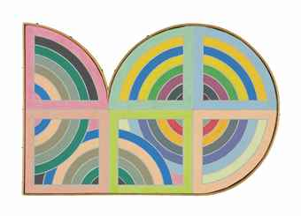 Richard Pettibone-Stella, Gur II, 1967-1968
