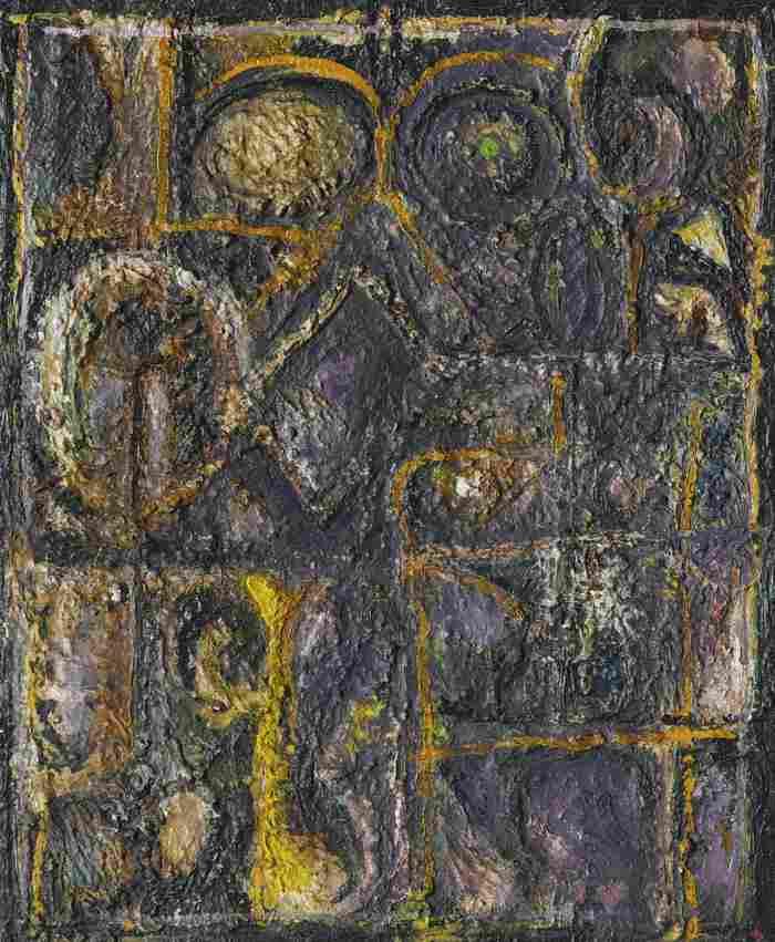 Richard Pousette-Dart-Amethyst Window-1950