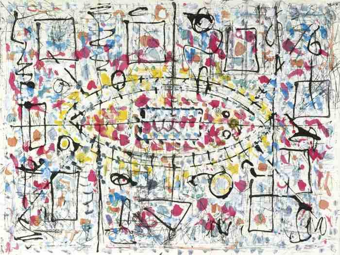 Richard Pousette-Dart-Arabesque-1980