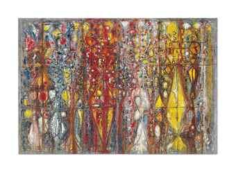 Richard Pousette-Dart-Blood Wedding-1958