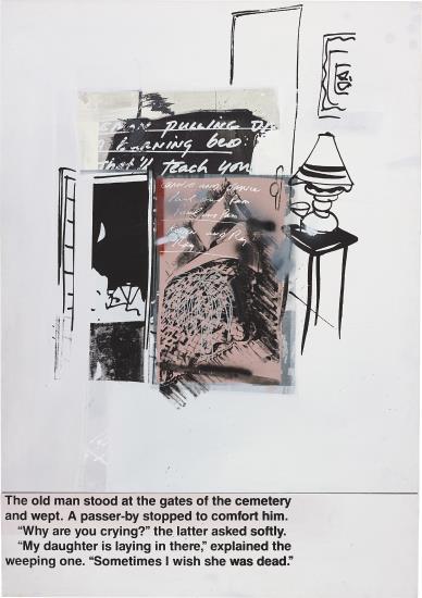 Richard Prince-Weeping and Crying-1989