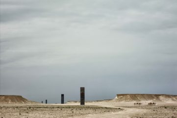 Richard Serra - East-West/West-East, 2014. Qatar Museums Doha