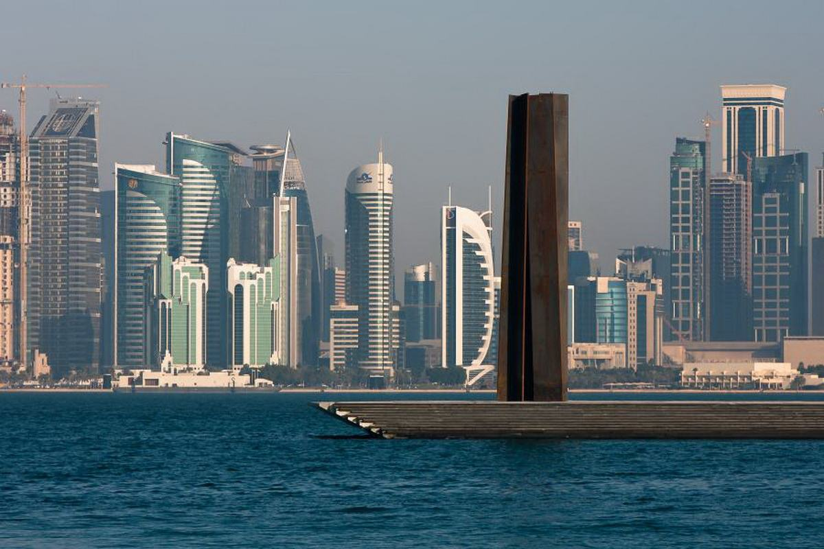 Richard Serra - 7. Courtesy Qatar Museums Doha