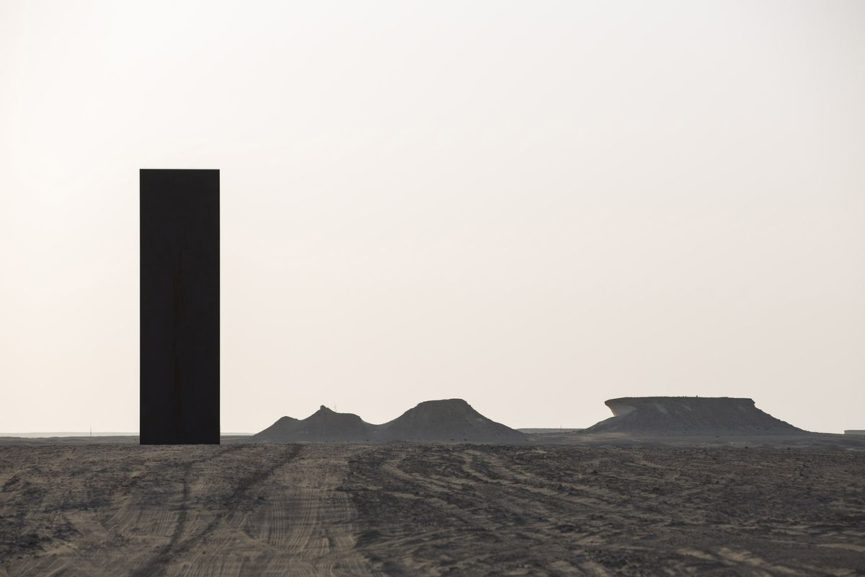 Richard Serra - East-West West-East, via archdaily com