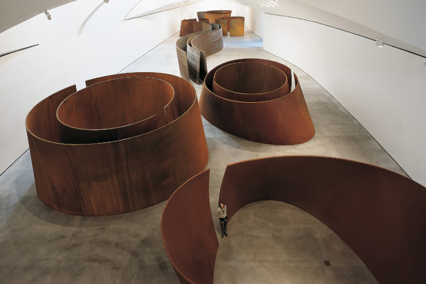 Richard Serra biography 2016