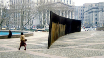 Richard Serra Tilted Arc