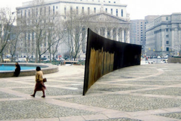 Looking Back at Richard Serra's Controversial Tilted Arc