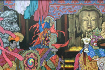 Richard Zu Ming Ho - All Honor To Buddha (detail), 2007, Image courtesy od Addicted Art Gallery