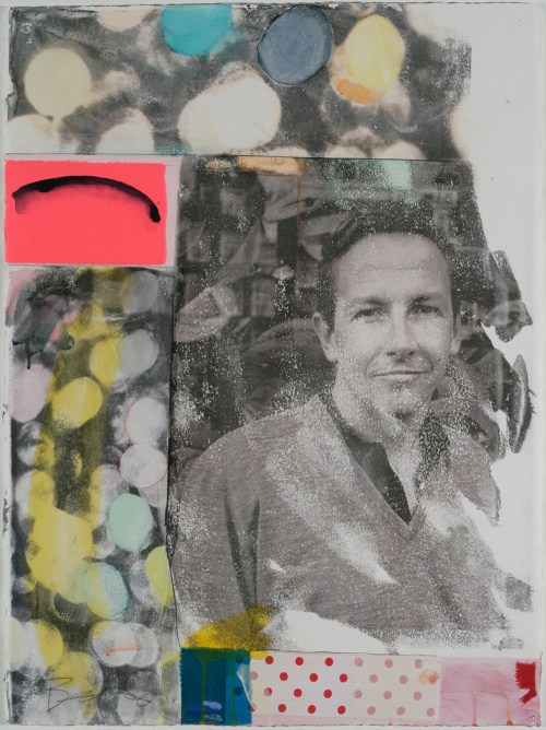 Rick Begneaud - Buddha (Portrait of Robert Rauschenberg) - 2013