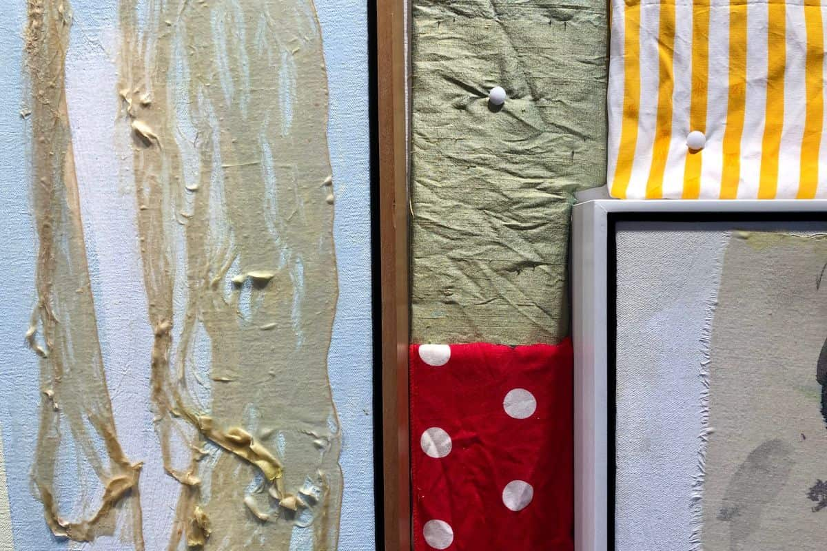 Rick Begneaud's Fabrics, Courtesy Woodward Gallery