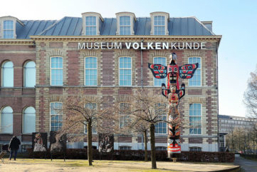 Building of the National Museum of Ethnology (Rijksmuseum Volkenkunde), Leiden, Netherlands